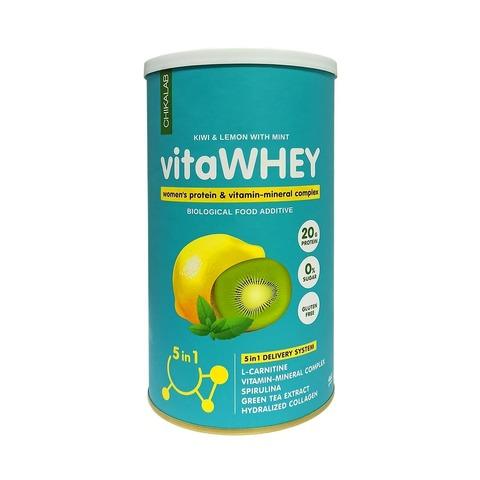 Коктейль витаминно-минеральный Chikalab Киви-лимон-мята, 462