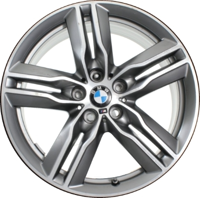 Диск колесный R18 Double Spoke 570M 36107850456 для BMW Х1 (F48) 2015- обои loymina illusion артикул dse 006