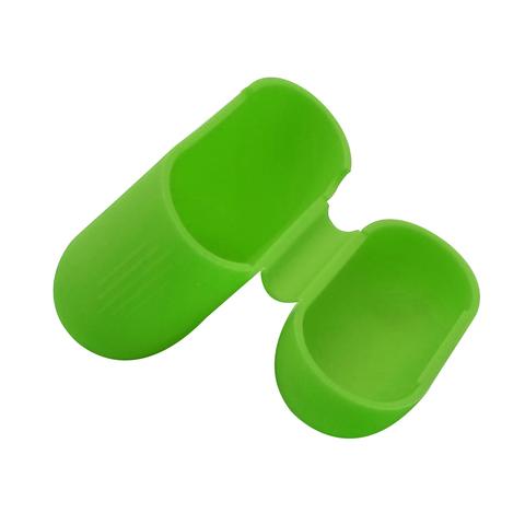 Чехол на AirPods (зеленый) силиконовый