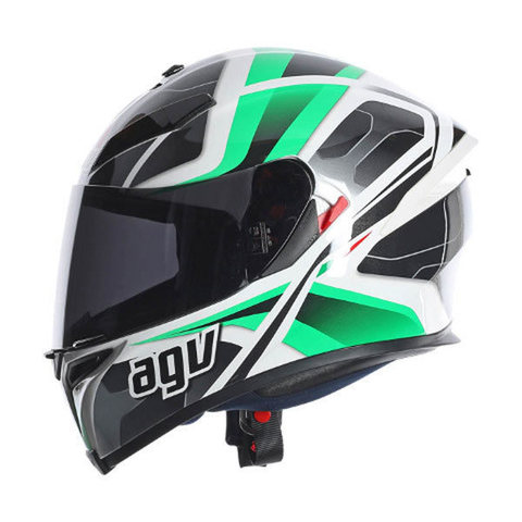 Шлем AGV K-5 Multi Dimension Black-white-green