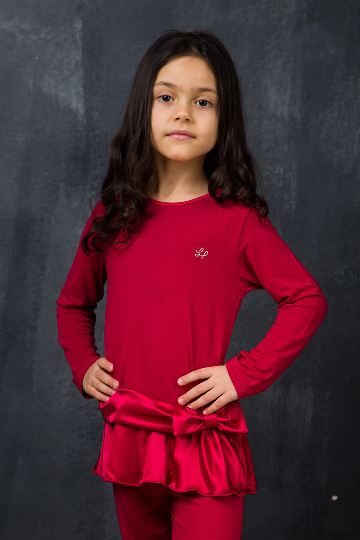 Домашний костюм для девочки премиум класса La Perla (Для девочек)