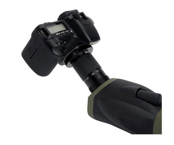 Подключение фотокамеры к зрительной трубе Celestron Ultima 100-45