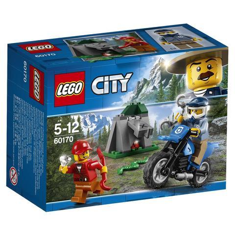 LEGO City: Погоня на внедорожниках 60170 — Off-Road Chase — Лего Сити Город