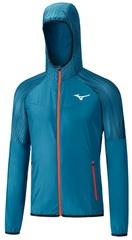 Куртка для бега Mizuno Printed Hoodie Jacket мужская
