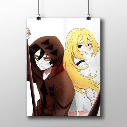 Плакат с Айзеком и Рейчел