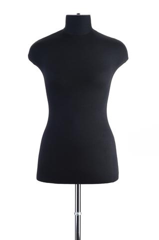 Мягкий манекен женский 44 размер (черный цвет)