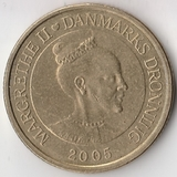 K6097, 2005, Дания, 20 крон