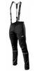 Утеплённый лыжный костюм 905 Victory Code Go Fast 2019 Black с лямками мужской