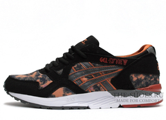 Кроссовки Мужские Asics LYTE V Printed Black Orange