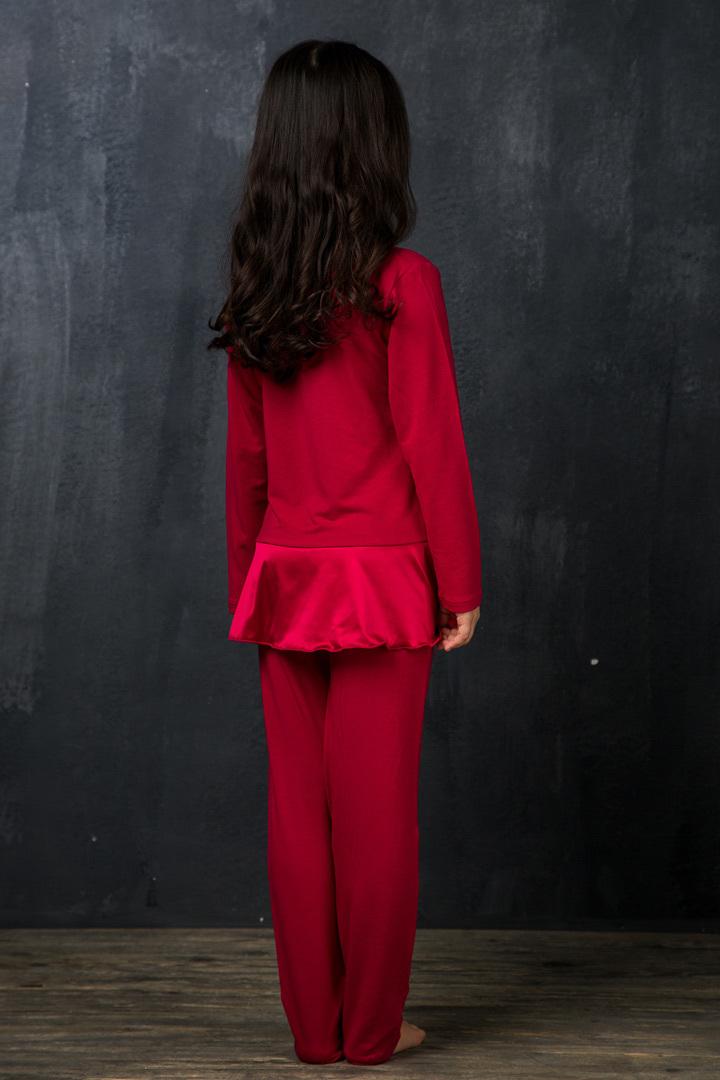 Домашний костюм для девочки премиум класса La Perla