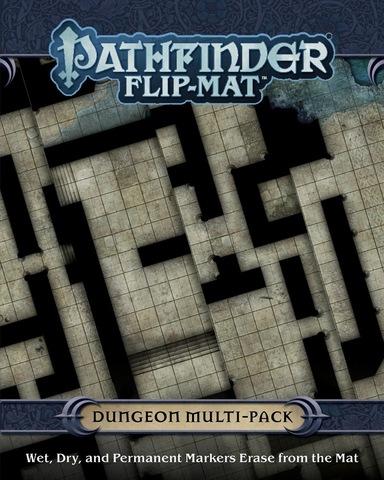 Pathfinder. Flip-Mat Multi-Pack: Dungeons