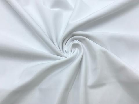 Ткань бельевая утягивающая, белая