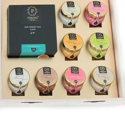 Набор Чай и Мёд-суфле 'Tea Time', набор 8 вкусов
