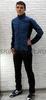 Элитный лыжный костюм Craft Sharp Softshell XC Blue мужской