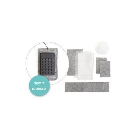 Набор для изготовления противоскользящего коврика для педали - We R Stitch Happy Foot Pedal Kit