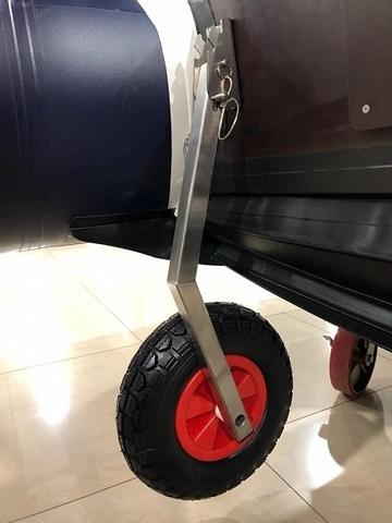Комплект колес транцевых откидных универсальных 260