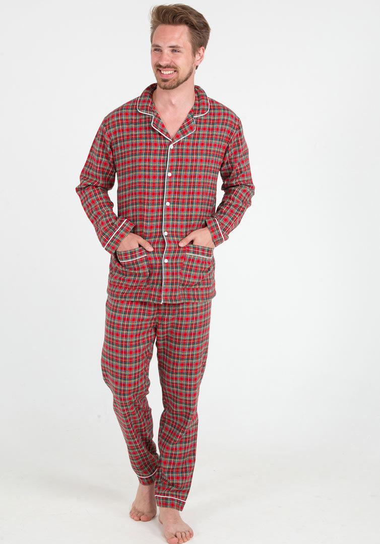 Фланелевая мужская пижама Pellegrini