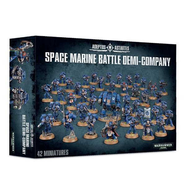 Space Marine Battle Demi-Company. Коробка