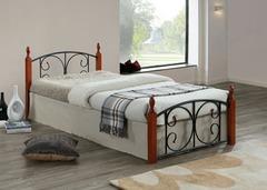 Кровать MK-5221-RO 200x140 (MK-5221-RO) Темная вишня