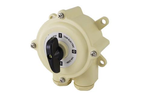 Пакетный выключатель ПВ2-63 2П 63А 220В IP56 TDM