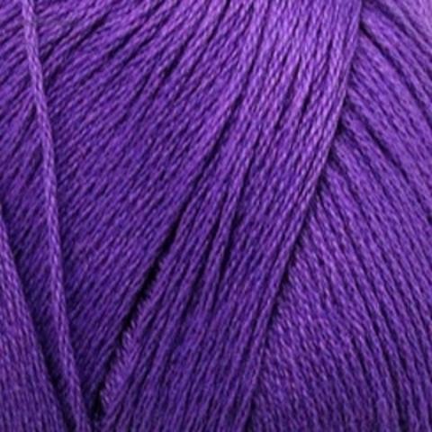 Пряжа Хлопок натуральный темно-фиолетовый 698 купить в интернет магазине | Пряжа пехорка недорого