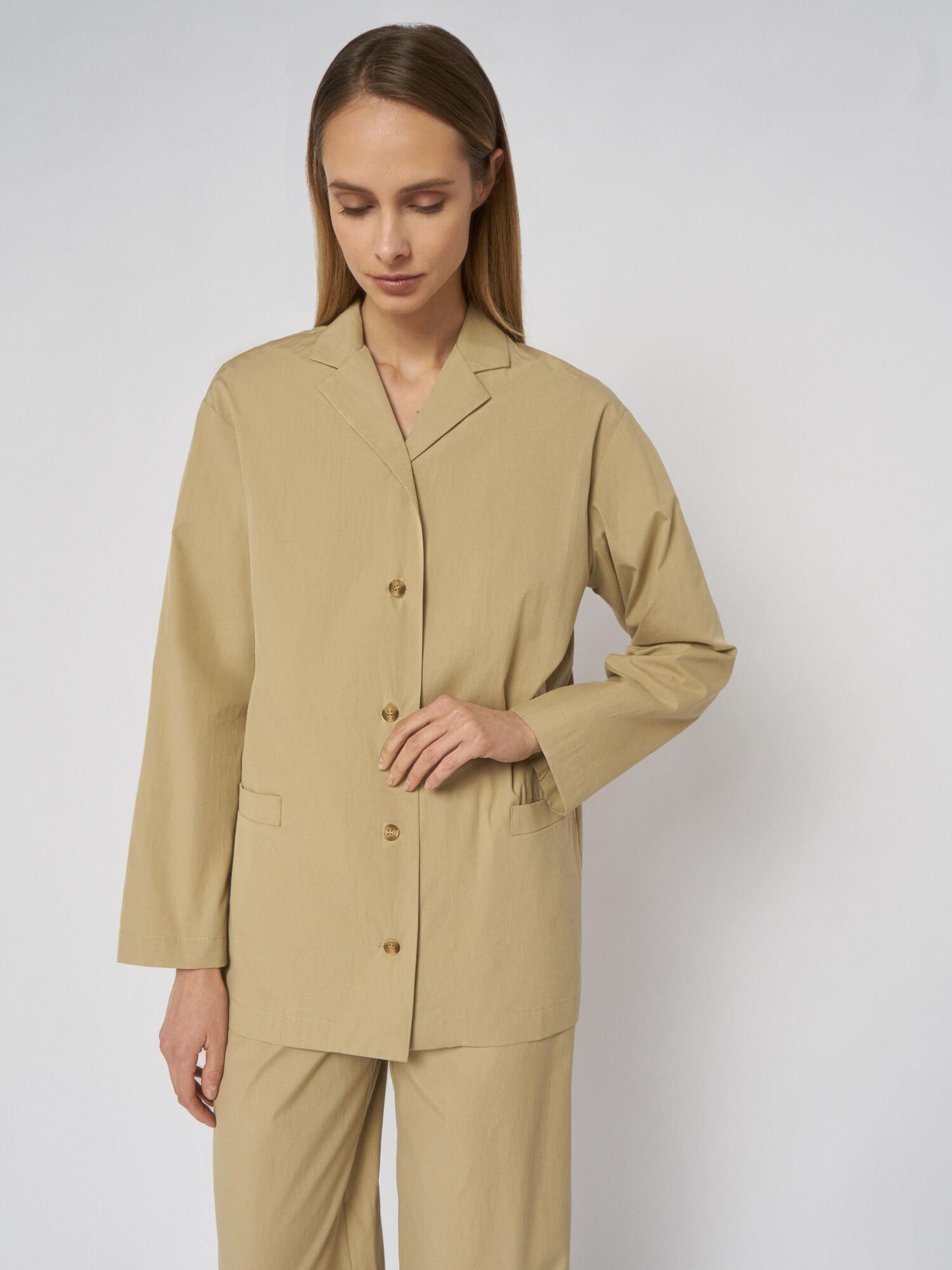 Блуза Jacklin в пижамном стиле