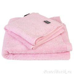 Полотенце 30x50 Cawo Life Style 7007 Uni светло-розовое