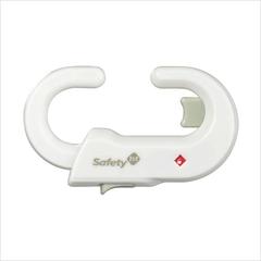 Блокиратор открывания распашных дверец шкафа Safety 1st (белый)