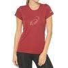 Женская спортивная футболка Asics Graphic SS Top (110423 6010) красная фото