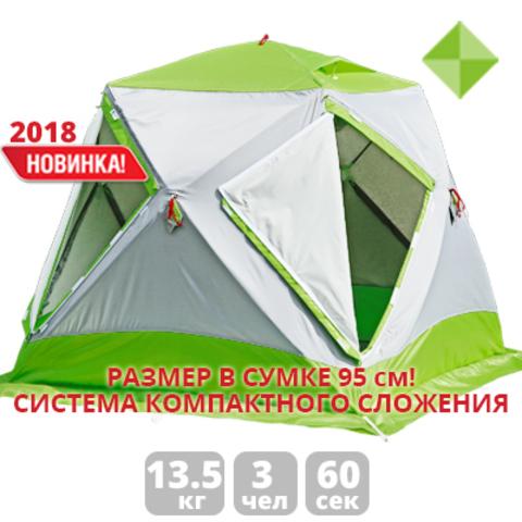 Палатка для зимней рыбалки Лотос Куб 3 Компакт Термо