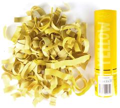 AC 20см Пневмохлопушка Желтое конфетти