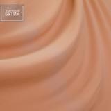 Вискозный трикотаж розово-телесного цвета с добавлением полиэстера