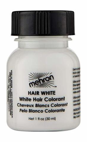 MEHRON Краска для волос, Белая, 30 мл