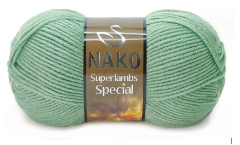 Пряжа Nako Superlambs Special арт. 10483 мята