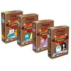 Время приключений: Карточные войны (Четыре выпуска в одном наборе)