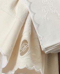 Набор полотенец 2 шт Blumarine Anjelica молочный