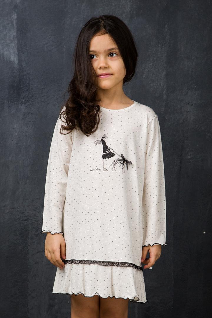 Домашнее платье-сорочка для детей La Perla (Для девочек)
