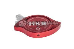 Накладка на крышку радиатора HKS красная