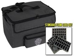 Сумка Battle Foam Shield со стандартными треями (черная)