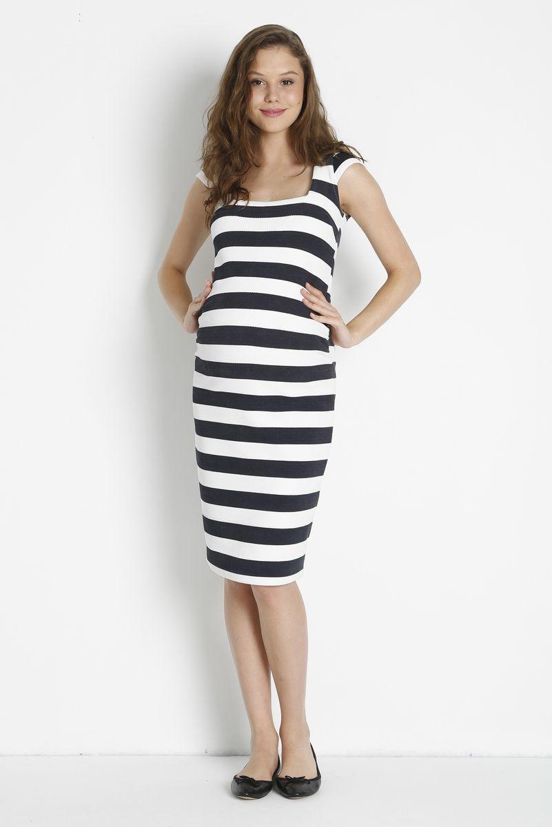 Платье для беременных 08423 белый
