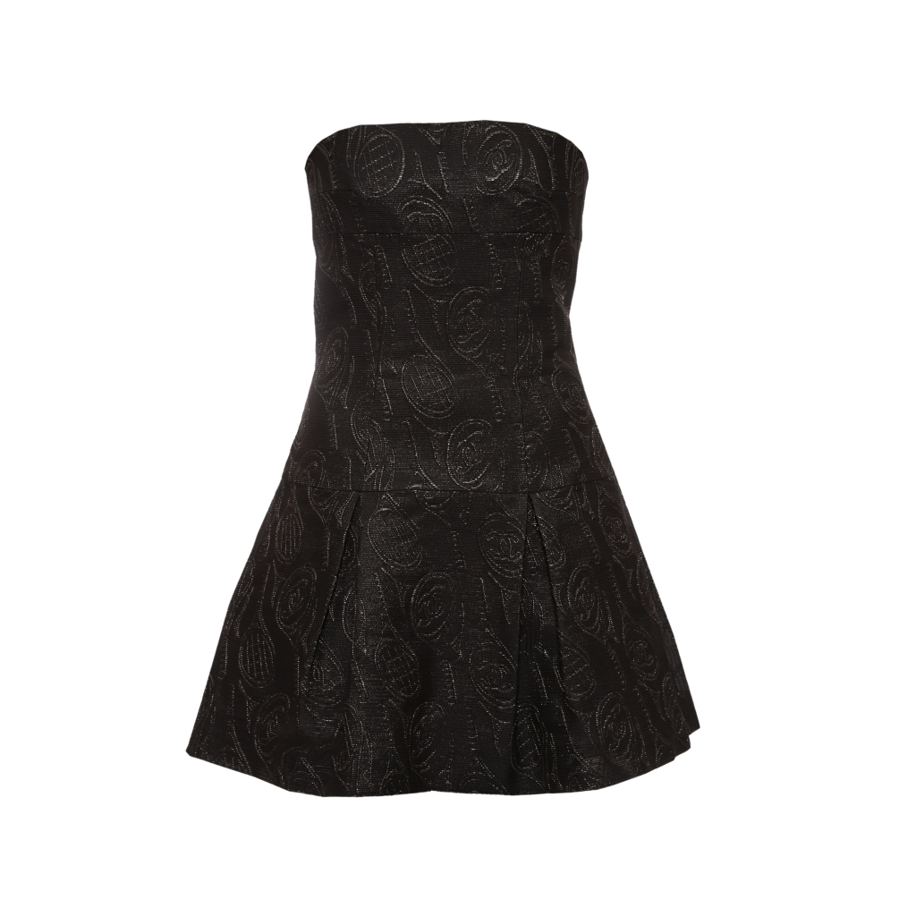 Очаровательное платье в стиле спортивный шик от Chanel, 40 размер.