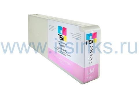 Картридж для Epson 7900/9900 C13T636600 Vivid Light Magenta 700 мл