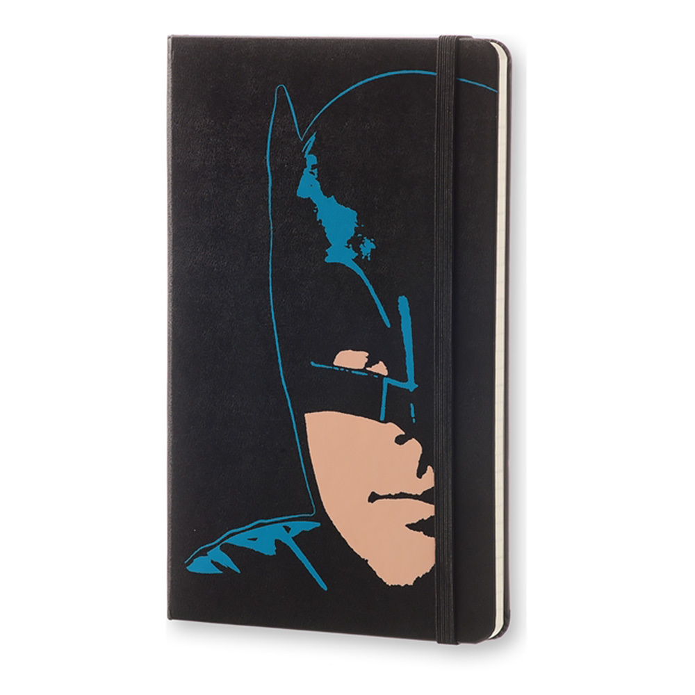 Еженедельник Moleskine Batman Wknt Limited Edition, цвет черный