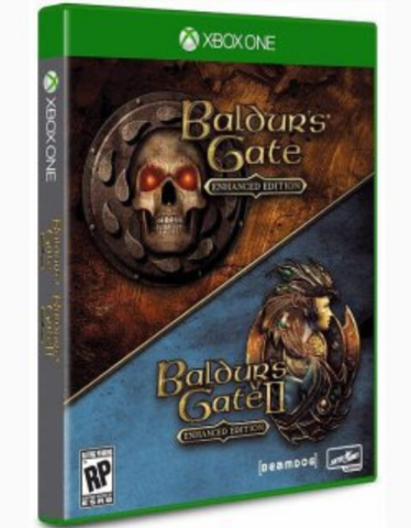Xbox One Baldur's Gate: Enhanced Edition (русская версия)