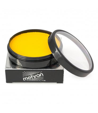 Аквагрим Mehron 40 гр регулярный желтый