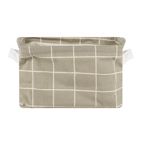 Корзина текстильная малая Grey
