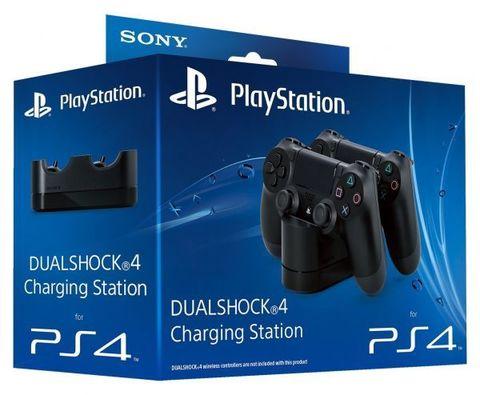 PS4 Зарядная станция для 2х контроллеров (Dualshock 4 CUH-ZDC1/E: SCEE)