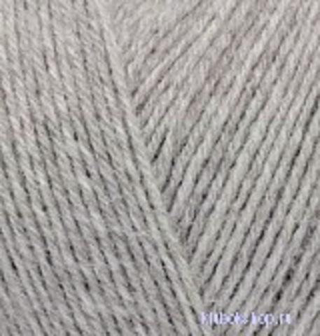 Пряжа Superwash (Alize) 21 Серый меланж, фото