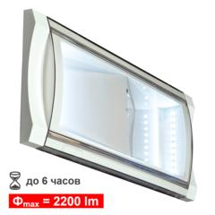 Аварийный эвакуационный светильник с аккумулятором cо световым потоком до 2200lm Formula 65 LED Li-Fe Beghelli