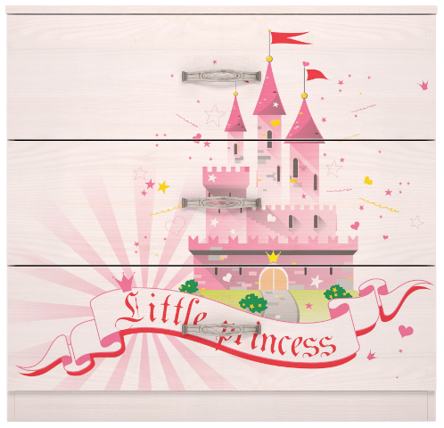 Комод 3 Принцесса-2